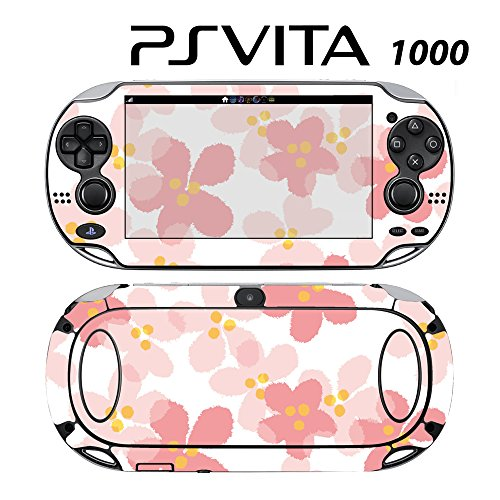Decorative Video Game Skin Decal Cover Sticker for Sony PlayStation PS Vita (PCH-1000) - Sweet Floral Pink -  Decals Plus, PV1-PA37