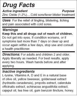 046985016742 - Lip Clear Lysine+ Cold Sore Treatment 0.25 oz carousel main 1
