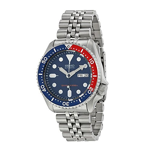 Diver's Analog Automatic Stainless Steel Watch (Seiko Quartz Diver)