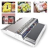 Sumeve Film Wrapper Machine Manual Wraping machine 18' Food Fruit Tray Wrapper Hand Film Sealing Packaging Machine 110V 220V (110V)