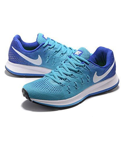 9657c6f24ab0 Nike Air Zoom Pegasus 33 Blue Running Shoes For Men - 10  Buy Online at Low  Prices in India - Amazon.in