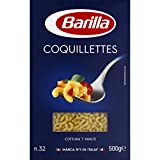 Barilla - Coquillettes n°32, pâtes alimentaires - Le paquet de 500g - (for multi-item order extra postage cost will be reimbursed)