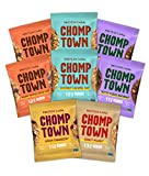Chomptown | Variety Pack | High-Protein Cookie | Gluten-Free | Dairy-Free | Non-GMO | Fair Trade | 2.75 oz (Pack of 8)
