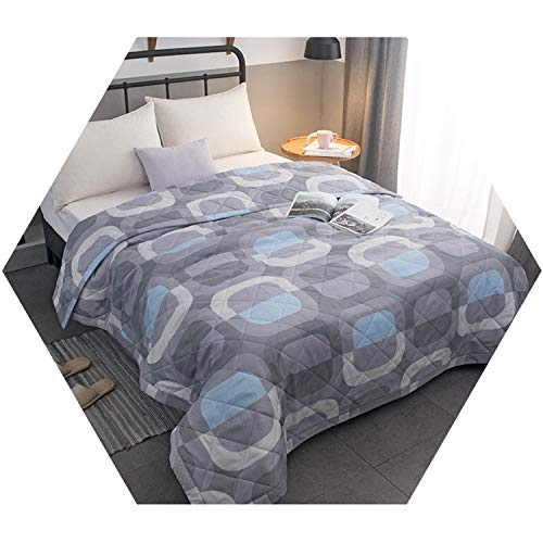 Solid Bedspread Summer Quilt Blanket Bed Cover Quilting Home Textiles Children Adult 4 Queen