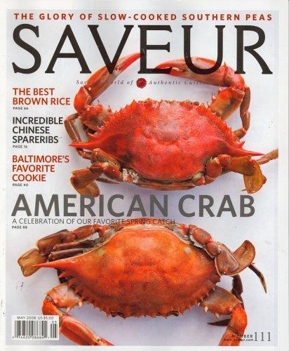 Download Saveur, May 2008 Issue pdf epub