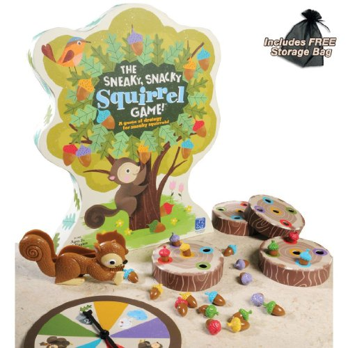 Sneaky Snacky Squirrel Game Storage