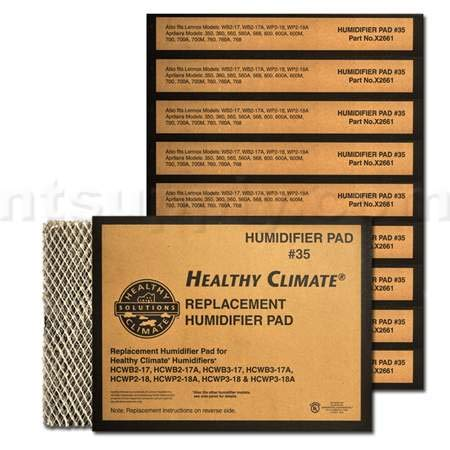 Lennox Healthy Climate #35 Water Panel Evaporator – # X2661, 10-Pack