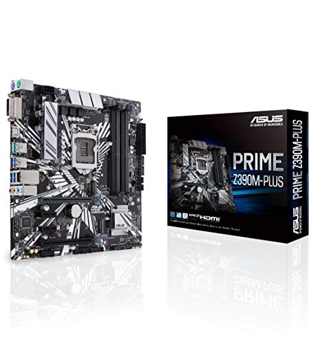 ASUS 90MB0Z60-M0EAY0 Prime Intel Z390 Micro ATX DDR4-SDRAM Motherboard