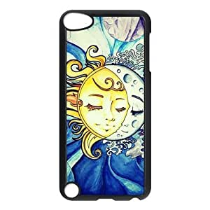 Sun and Moon Customized Hard Plastic Cover Case fits iPod Touch 5th ipod5-linda9