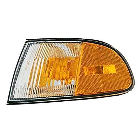 1992-1993-1994-1995 Honda Civic 2-Door Coupe & Hatchback Corner Park Light Turn Signal Marker Lamp Left Driver Side (92 93 94 - Turn Signal Park Light Lamp