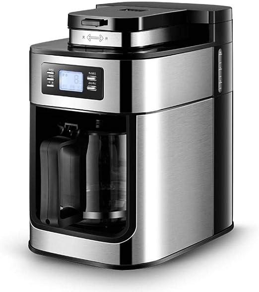 LinZX Kaffeevollautomat Home1.2L cafetera eléctrica cafetera de ...