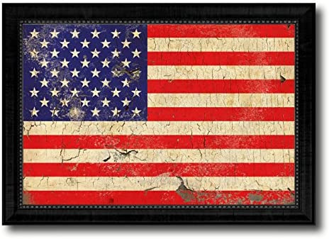 Amazon.com: USA Vintage Flag Gift Ideas Home Decor Wall Art ...