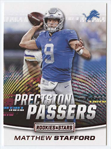 2018 Rookies and Stars Precision Passers Football #12 Matthew Stafford Detroit Lions Official NFL Trading Card Produced by Panini ()