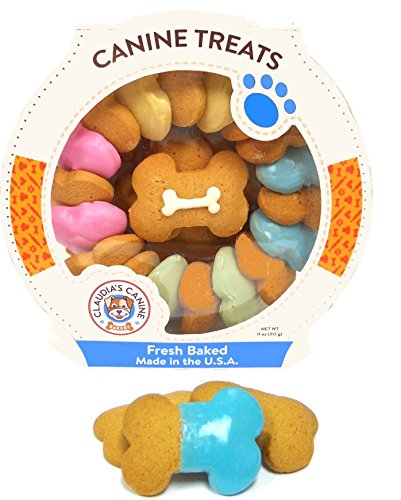 - Claudia'S Canine Bakery - Carousel Of Canine Party Bones - 10 Ounce