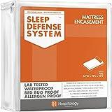 The Original Sleep Defense System - Waterproof / Bed Bug / Dust Mite Proof - PREMIUM Zippered Mattress Encasement & Hypoallergenic Protector - 54-Inch by 75-Inch, Full - Standard 12