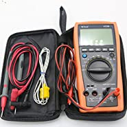 VICI VC99 3 6/7 Auto Range Digital Multimeter DC/AC 20A Resistance Capacitance Voltage Meter Voltmeter Ammeter & Analog read bar+Alligator Probe+Thermal Couple TK cable