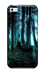 For WAYrjmI6621FdwHY Dark Forest Protective Case Cover Skin/iphone 5c Case Cover