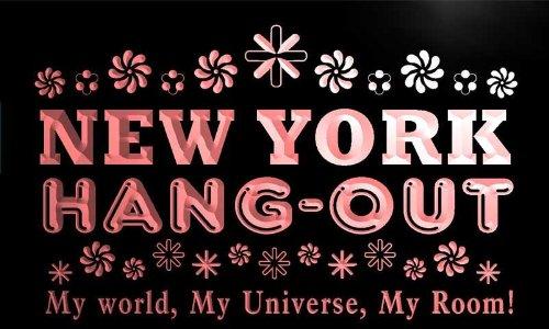 pq2051-r New York Hang Out Girl Kid's Princess Room Neon Light Sign
