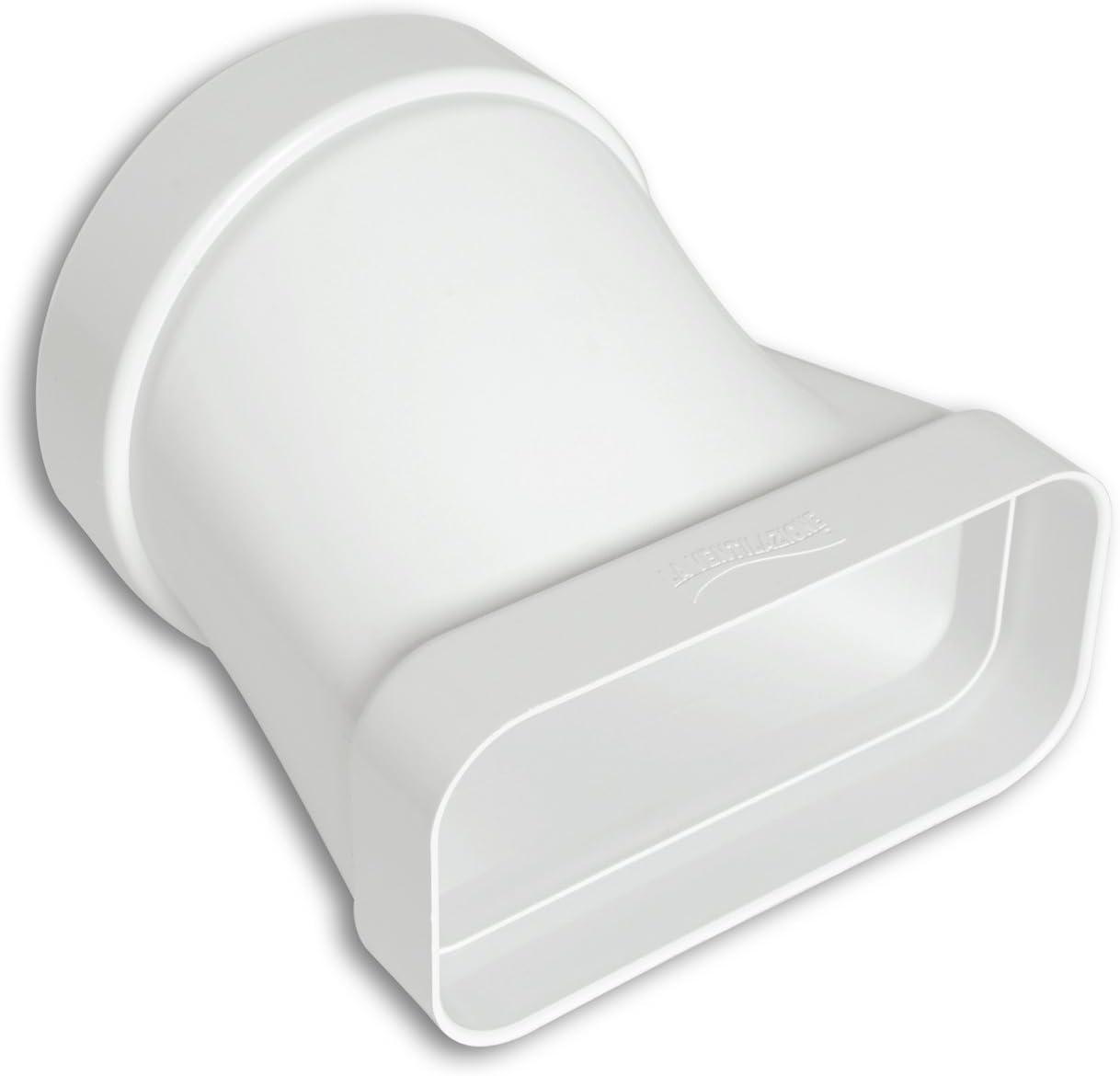 La ventilación cgo157b Junta Horizontal de ABS para ventilación canalizzata, 125 mm – 150 x 70 mm: Amazon.es: Bricolaje y herramientas