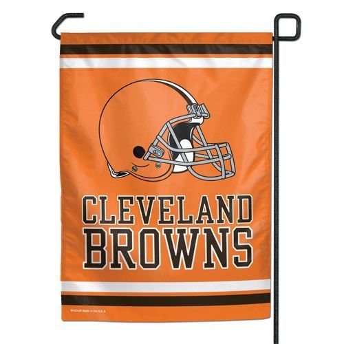 nd Browns Garden Flag, 12 Inches by 18 Inches, Team Colors ()