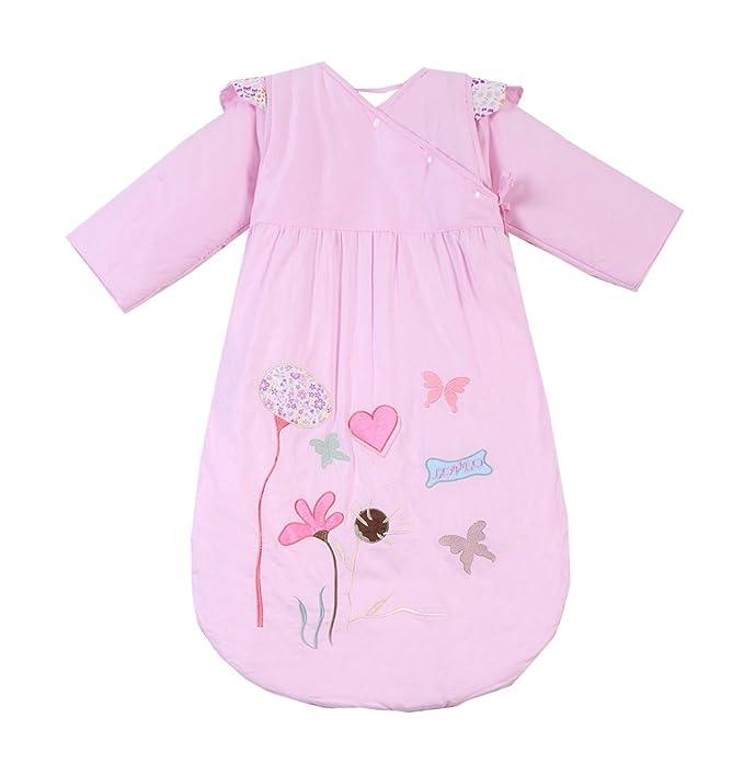 Chilsuessy - Saco de dormir - para bebé niña rosa rosa: Amazon.es: Ropa y accesorios