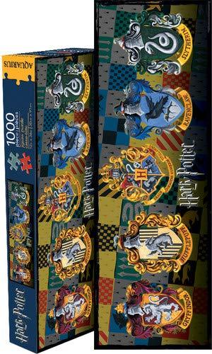 Aquarius Harry Potter Crests Slim 1000 Piece Jigsaw Puzzle