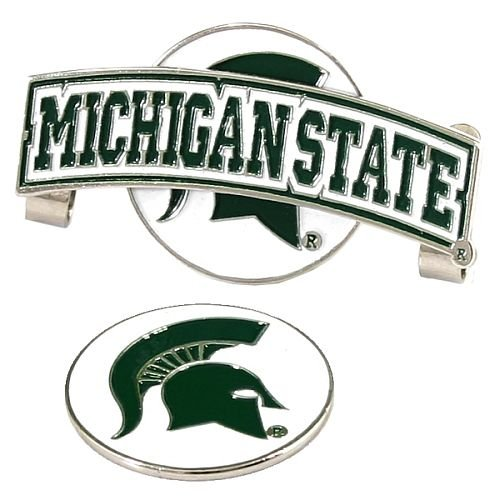 LinksWalker Slider Hat Clip w/ Ball Marker (NCAA, Michigan State ()