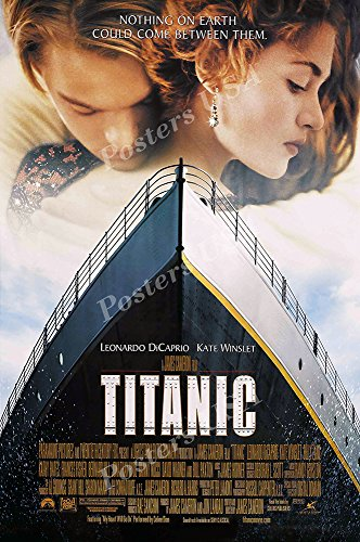 Posters USA - Titanic Movie Poster GLOSSY FINISH) - MOV251 (24'' x 36'' (61cm x 91.5cm)) by Posters USA