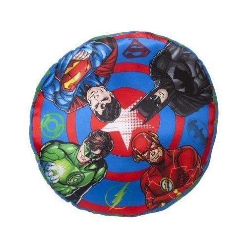 DC Comics Decorative Pillow -- Justice League Sheild Pillow