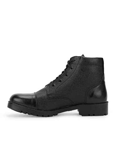 70076ac2e Armstar Men's Black Leather Ankle Boots: Buy Online at Low Prices in ...
