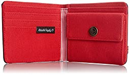 Herschel Supply Co. Roy Coin Wallet, Navy/Red, One Size