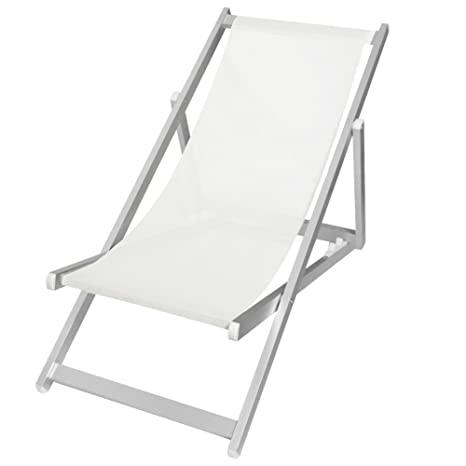 Sedia A Sdraio Alluminio.Bakaji Sedia Sdraio Pieghevole Professionale Con Struttura Tubolare