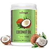 Cheap Virgin Coconut Oil Capsules 4000mg / Serving (360 Softgels) by Natrogix – Highest Potency MCT Oil Improves Hair, Skin, Heart, Digestive Health & Immune System Booster, Healthy Weight Loss