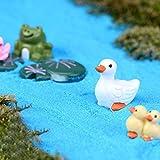 Daytingday 3 Pieces Miniature Duck Resin Ornament Garden Decor Review