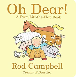 Book Cover: Oh Dear!: A Farm Lift-the-Flap Book