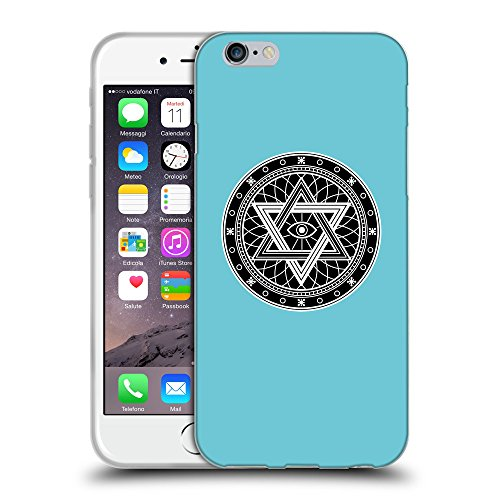 GoGoMobile Coque de Protection TPU Silicone Case pour // Q08340627 Mystique occulte 13 Cyan // Apple iPhone 7