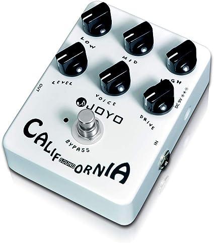 JOYO JF-15 California Pedal para guitarra con efecto de pedal de ...
