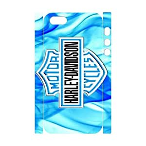 Pattern Hard Case Cover iphone5 5S 3D Cell Phone Case White Harley Davidson Cydnk Back Skin Case Shell