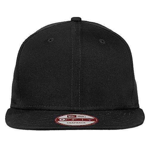 New Era 9FIFTY Authentic Flat Bill Snapback Adjustable Baseball Cap - Black
