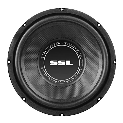 (Sound Storm SS Series Car Subwoofer, Model SS8 | 8 Inch, 400 Watts, Single 4 Ohm Voice Coil)