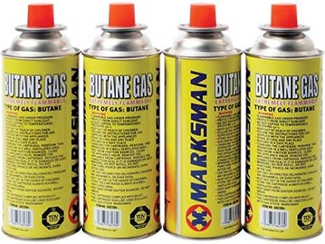 4 botellas de gas xbutane para cocina portátil de camping