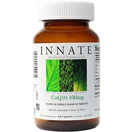 INNATE Response Formulas - CoQ10 - 100 mg, Supports Cardiovascular Health, 60 Capsules