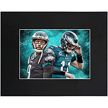 Philadelphia Eagles EAGLES NFL 2018 Super Bowl Champions Nick Foles Carson  Wentz Football Team Art Print Picture poster 8x10 Matted Print Printed  Picture ... c3fbb42f6