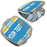 BleuReign Personalized Custom Name Basketball Team Denver Compact Pocket Cosmetic Mirror