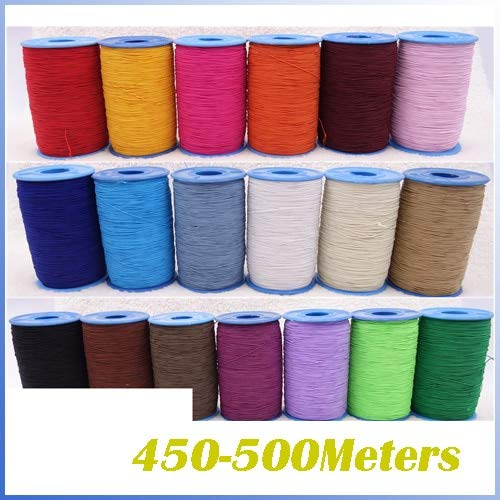Laliva Apparel & Accessories Sewing Supplies Sewing Threads Elastic Cord 0.5mm Sewing Bottom line DIY Line by Laliva