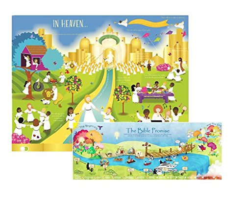 Heaven Poster Set for Kids, Pack of 2 -