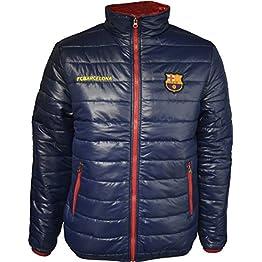 Fc Barcelone Doudoune Barça - Collection Officielle Taille Adulte Homme