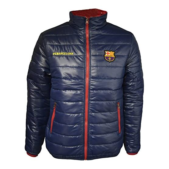 Fc Barcelone Doudoune Barça - Collection Officielle Taille Adulte Homme