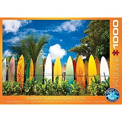 Eurographics Puzzle 1000 Pz Surfers Paradise Hi New Eg60000550