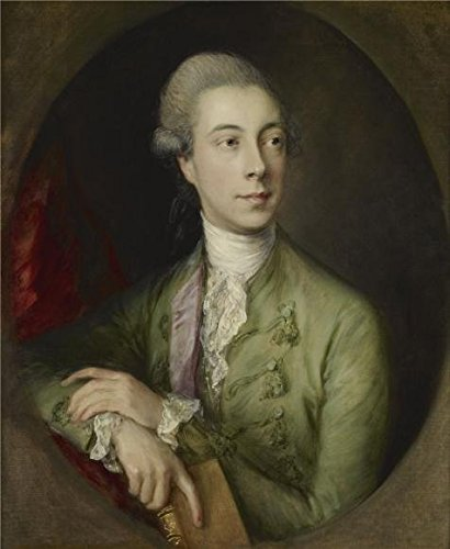 (Oil Painting 'Thomas Gainsborough - Richard Paul Jodrell, C. 1774' Printing On High Quality Polyster Canvas , 8x10 Inch / 20x25 Cm ,the Best Bedroom Artwork And Home Decor And Gifts Is This Amazing Art Decorative Prints On Canvas)